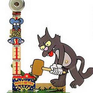 Itchy & Scratchy Pain-o-meter